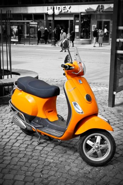 3150322-orange-vespa